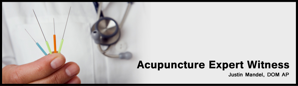 Acupuncture Expert Witness